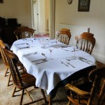 Guest Dining Room, Blair Farm, Bed and Breakfast, South Ayrshire