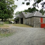 Horses, Blair Farm, Bed and Breakfast, South Ayrshire, Scotland