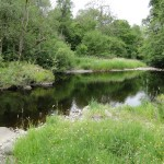 River Duisk, Blair Farm, Bed and Breakfast, South Ayrshire, Scotland