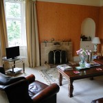 Guest Sitting Room, Blair Farm, Bed and Breakfast, South Ayrshire